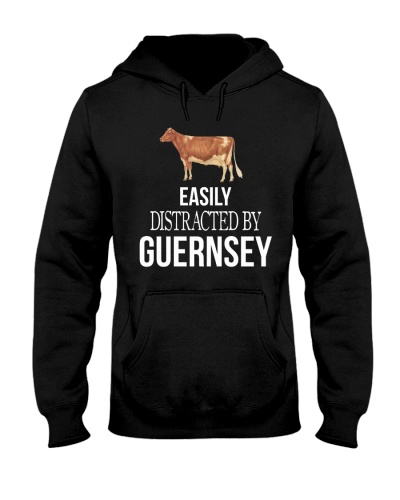 EASILY DISTRACTED BY GUERNSEY