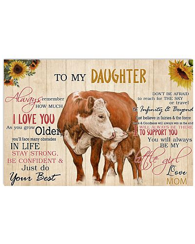 Poster To My Daughter - Hereford
