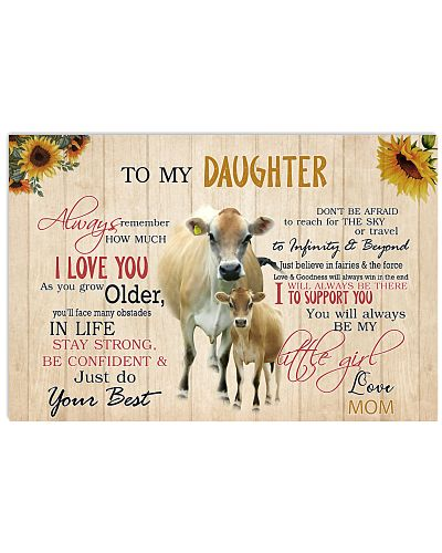 Poster To My Daughter - Jersey