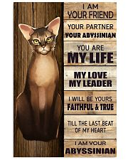 Poster I Am Your - Abyssinian 11x17 Poster front