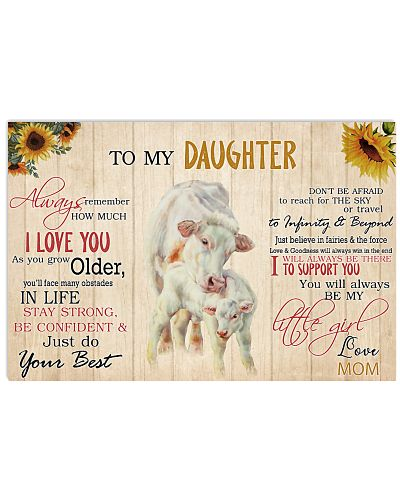 Poster To My Daughter - Charolais