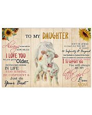 Poster To My Daughter - Charolais 17x11 Poster front