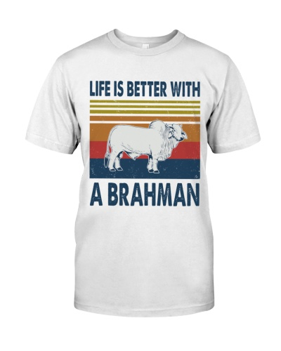 Vintage Life Is Better With - Brahman