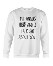 MY ANGUS AND I TALK ABOUT YOU Crewneck Sweatshirt thumbnail