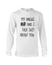 MY ANGUS AND I TALK ABOUT YOU Long Sleeve Tee thumbnail