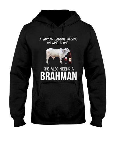 A WOMAN CAN NOT SURVIVE ALONE-BRAHMAN