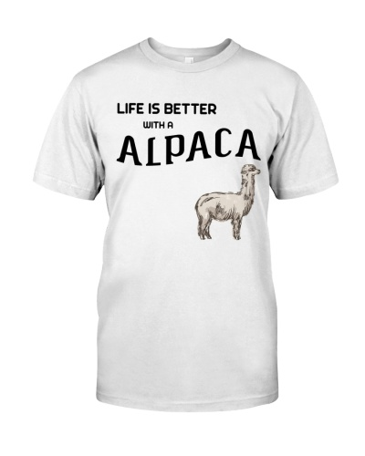 Life Is Better With Alpaca