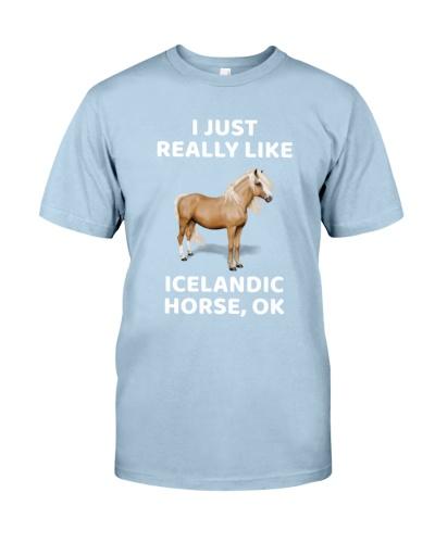 I JUST REALLY LIKE ICELANDIC HORSE