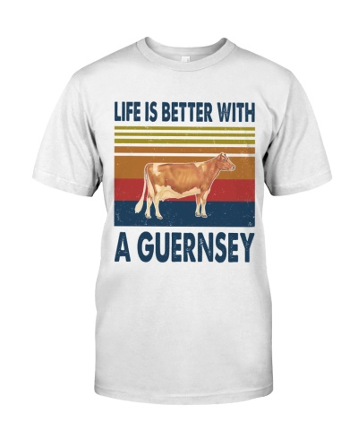 Vintage Life Is Better With - Guernsey