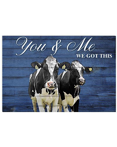 Poster You and Me - Holstein Friesian
