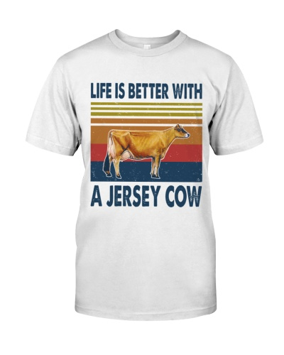 Vintage Life Is Better With - Jersey
