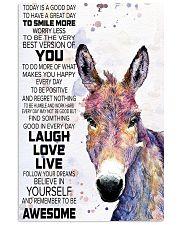 Today Is A Good Day - Donkey 11x17 Poster front
