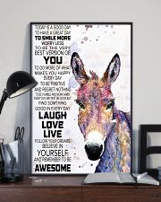 Today Is A Good Day - Donkey 11x17 Poster lifestyle-poster-2
