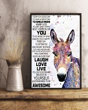 Today Is A Good Day - Donkey 11x17 Poster lifestyle-poster-3