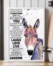 Today Is A Good Day - Donkey 11x17 Poster lifestyle-poster-4