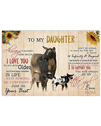 Poster To My Daughter - Nigerian Dwarf