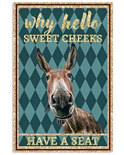 Why Hello Sweet Cheeks - Donkey 11x17 Poster front