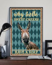 Why Hello Sweet Cheeks - Donkey 11x17 Poster lifestyle-poster-2