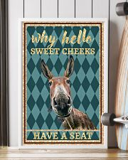 Why Hello Sweet Cheeks - Donkey 11x17 Poster lifestyle-poster-4