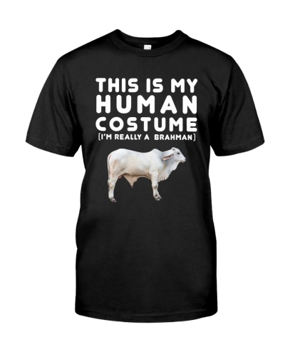 THIS IS MY HUMAN COSTUME IM REALLY A BRAHMAN