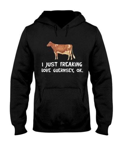 I JUST FREAKING LOVE GUERNSEY