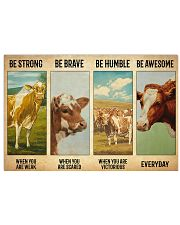 Poster Vintage Be Strong - Guernsey 17x11 Poster front