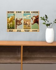 Poster Vintage Be Strong - Guernsey 17x11 Poster poster-landscape-17x11-lifestyle-24