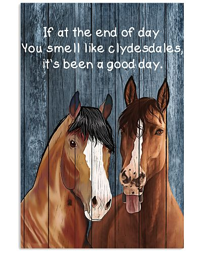 Poster You Smell Like - Clydesdale