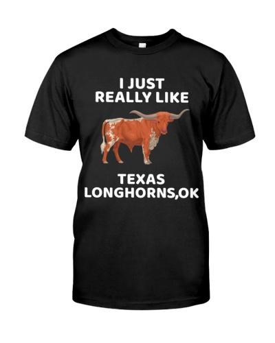 I Just Really Like Texas Longhorn