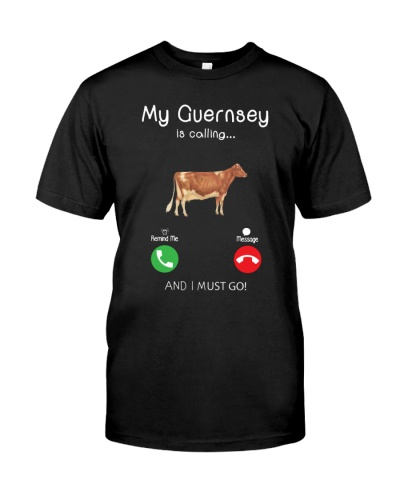 MY GUERNSEY IS CALLING