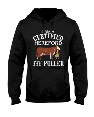 TIT PULLER - HEREFORD CATTLE