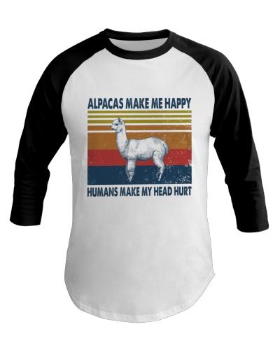 Vintage Make Me Happy - Alpaca