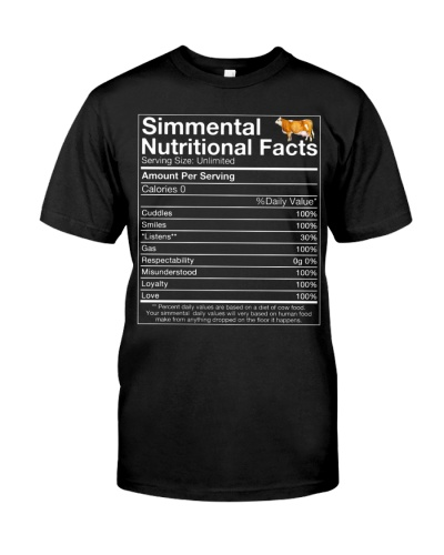 Simmental Nutritional Facts