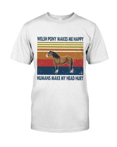 Vintage Make Me Happy - Welsh Pony