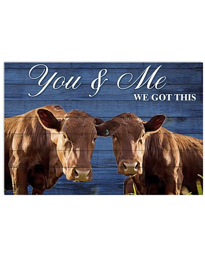 Poster You and Me - Beefmaster