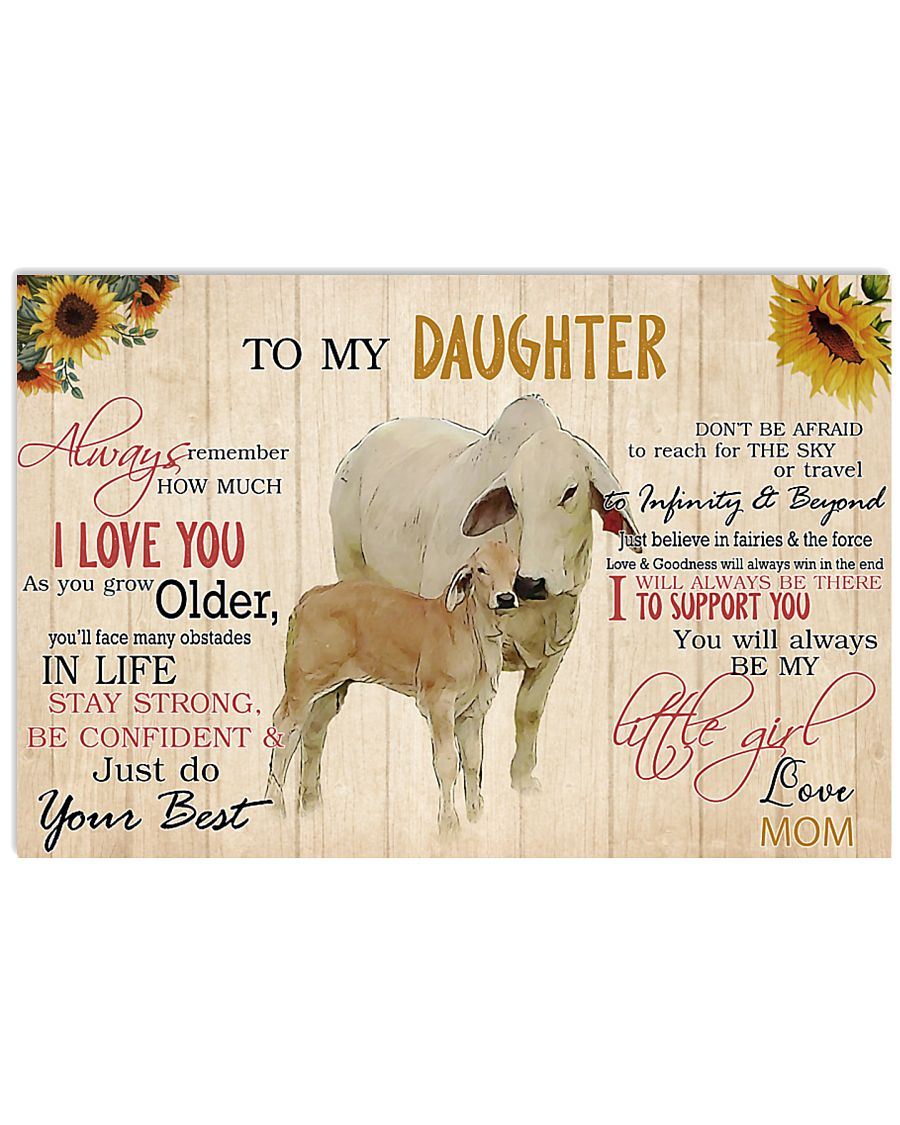 Poster To My Daughter - Brahman 17x11 Poster
