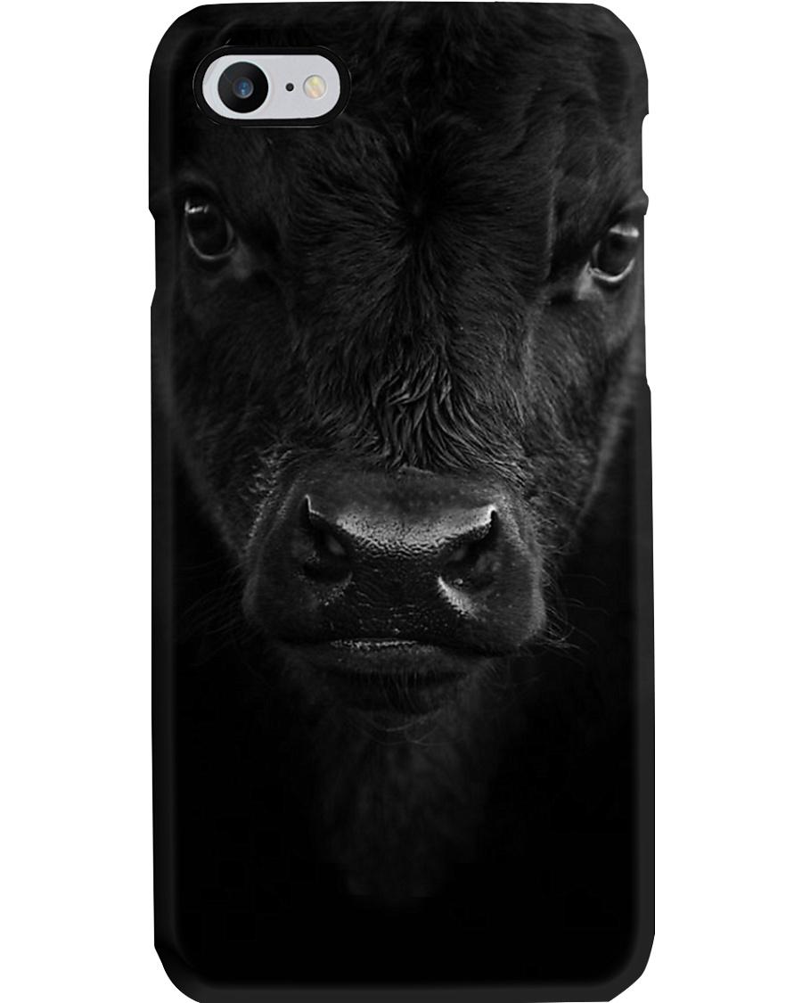 SOLID BLACK ANGUS Phone Case