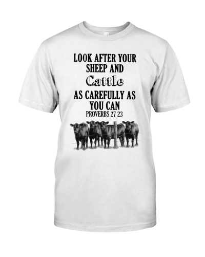 LOOK AFTER YOUR SHEEP AND CATTLE