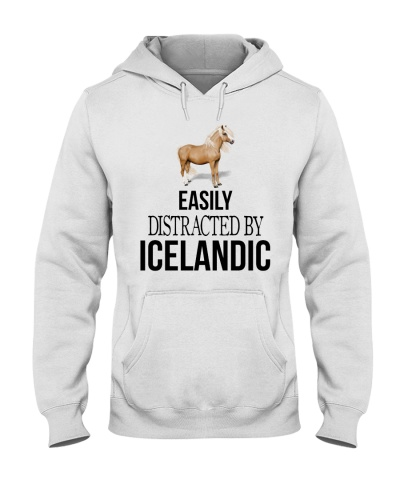 EASILY DISTRACTED BY ICELANDIC HORSE