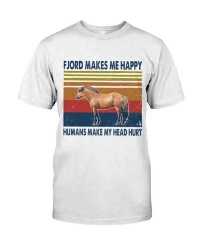 Vintage Make Me Happy - Fjord Horse