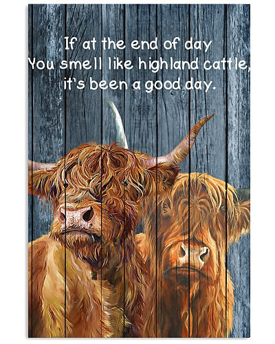 Poster You Smell Like - Highland Cattle