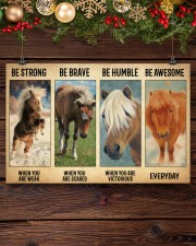 Poster Everyday - Miniature Horse 17x11 Poster aos-poster-landscape-17x11-lifestyle-27