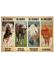 Poster Everyday - Miniature Horse 17x11 Poster front