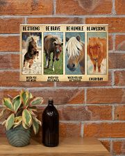 Poster Everyday - Miniature Horse 17x11 Poster poster-landscape-17x11-lifestyle-23