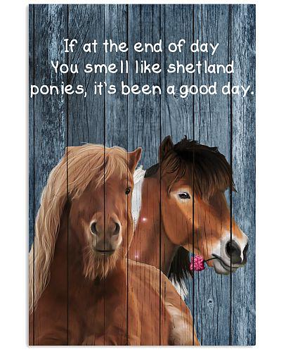 Poster You Smell Like - Shetland Pony