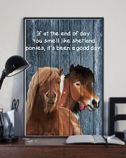 Poster You Smell Like - Shetland Pony 11x17 Poster lifestyle-poster-2