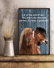 Poster You Smell Like - Shetland Pony 11x17 Poster lifestyle-poster-3