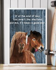 Poster You Smell Like - Shetland Pony 11x17 Poster lifestyle-poster-4