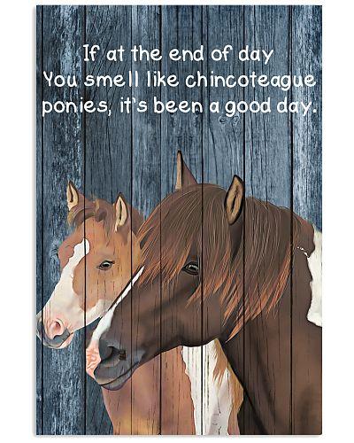 Poster You Smell Like - Chincoteague Pony