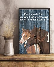 Poster You Smell Like - Chincoteague Pony 11x17 Poster lifestyle-poster-3